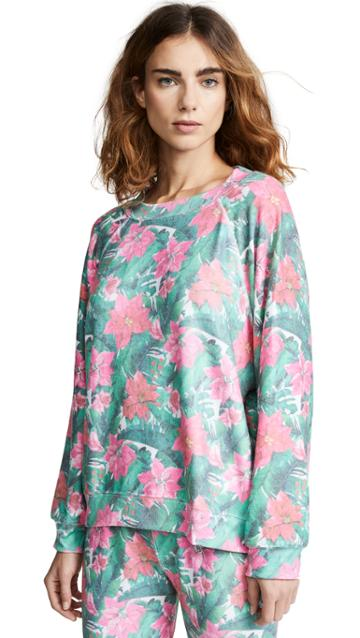 Wildfox Island Holiday Sweatshirt