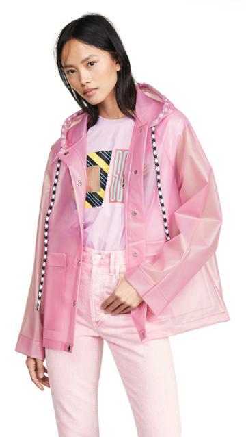 Proenza Schouler Pswl Printed Raincoat