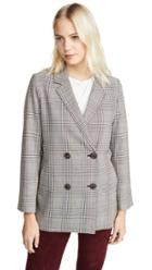 Madewell Plaid Blazer