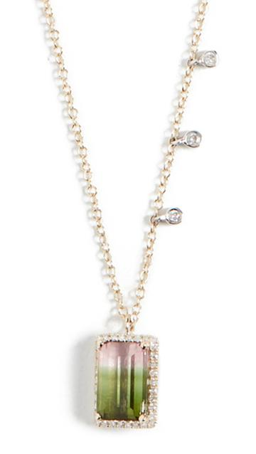 Meira T Tourmaline Ombre Necklace
