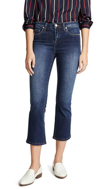 Blank Denim The Varick High Rise Kick Flare Jeans