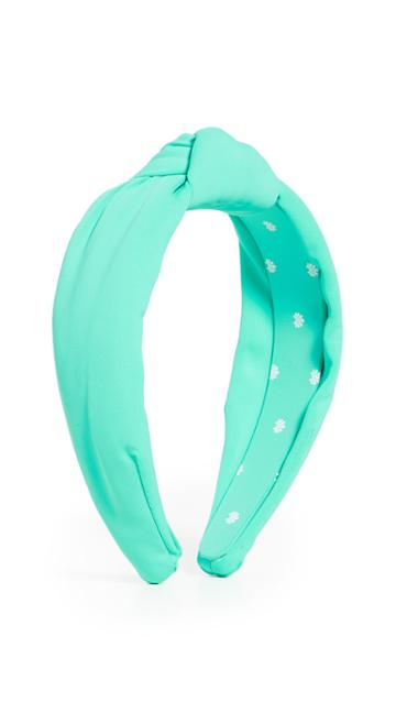 Lele Sadoughi Neoprene Knotted Headband