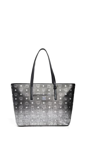 Mcm Gradation Visetos Medium Shopper Bag