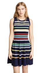 Milly Rainbow Stripe Pullover