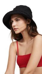 Hat Attack Washed Linen Bucket Hat