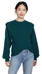Agolde 80 S Pleated Shoulder Sweatshirt