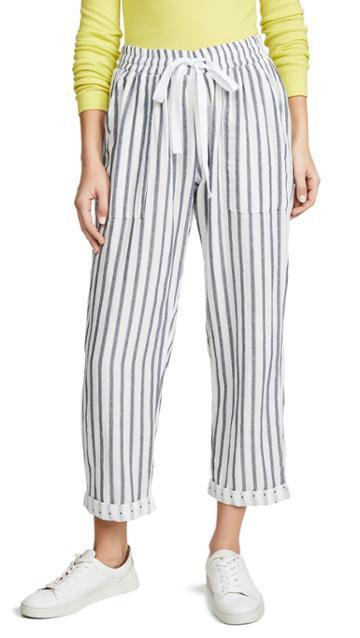 Three Dots Stripe And Dot Pants
