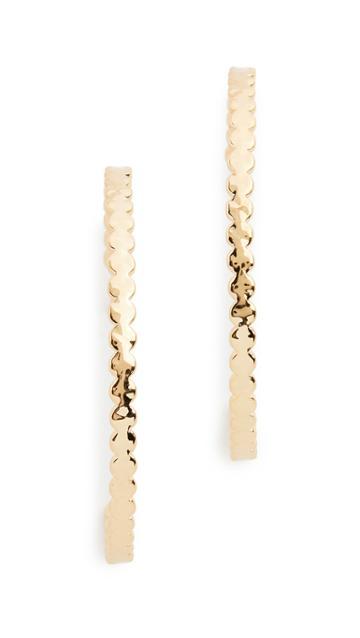 Gorjana Chloe Hoop Earrings