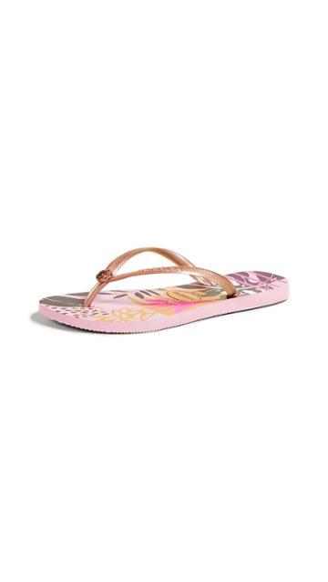 Havaianas Slim Follage Flip Flops