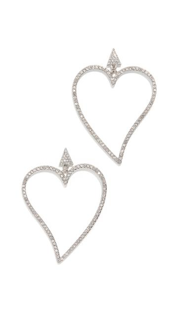 Rebecca Minkoff Lover Drama Stone Earrings