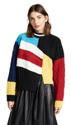 Msgm Patchwork Sweater