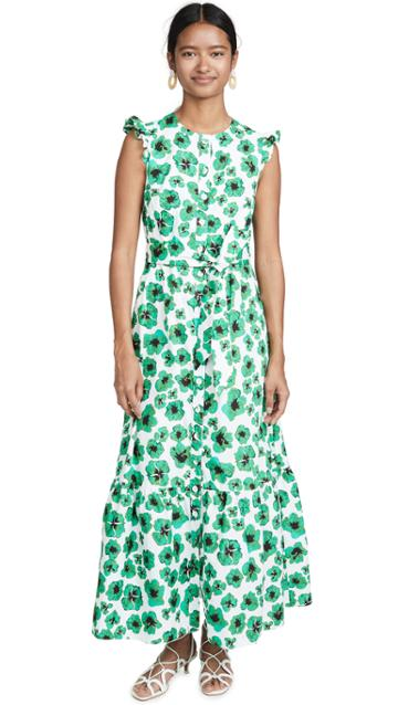Borgo De Nor Gabriella Leopard Floral Dress