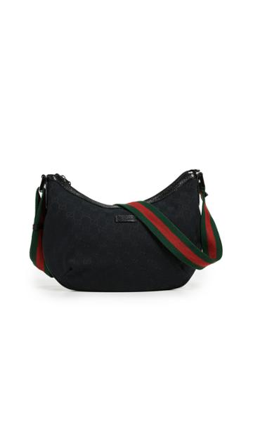 What Goes Around Comes Around Gucci Canvas Messenger