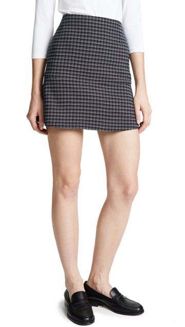 Sonia Rykiel Check Miniskirt
