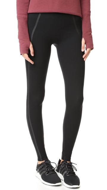 Spanx Every Wear Mesh Contour Leggings