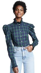 Petersyn Sasha Plaid Buttondown