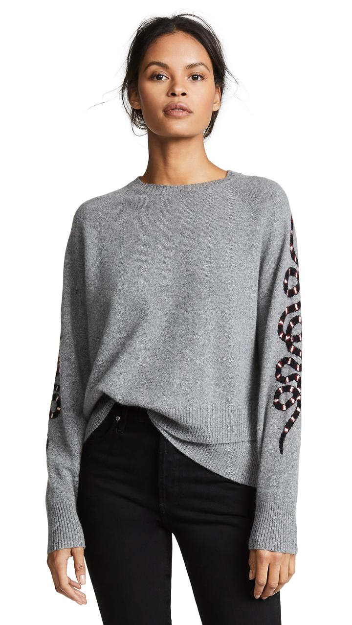 360 Sweater Cashmere Serpent Sweater