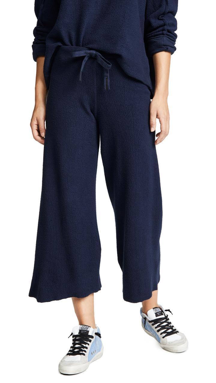 Stateside Sherpa Wideleg Pants