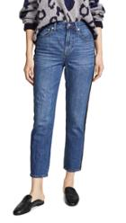Madewell Perfect Vintage Tux Stripe Jeans