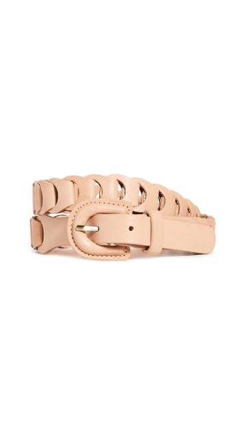 Zimmermann Leather Link Belt