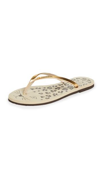 Havaianas X Charlotte Olympia Flip Flops