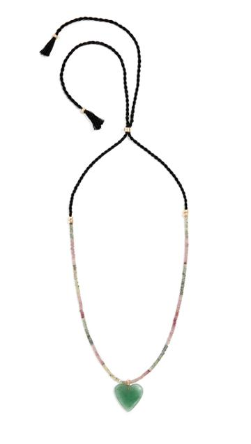 Lizzie Fortunato Enchanted Heart Necklace