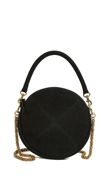 Clare V Circle Clutch With Chain Strap