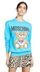 Moschino Moschino Bear Scribble Sweater