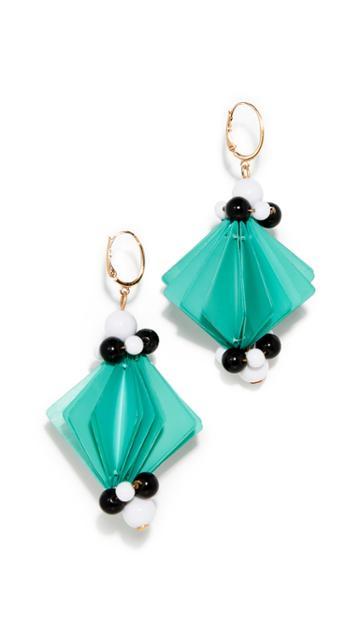 Marni Square Earrings