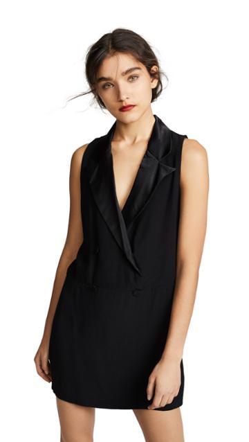 Bb Dakota She Means Business Tuxedo Dress