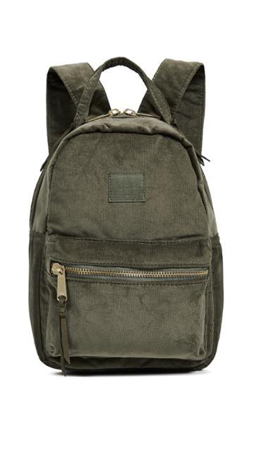 Herschel Supply Co Nova Mini Corduroy Backpack