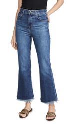 J Brand Julie High Rise Flare Jeans