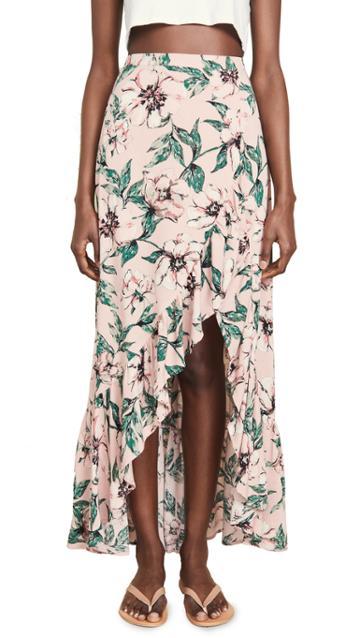 Bb Dakota Jack By Bb Dakota Tropical Paradise Skirt