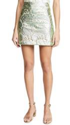 Jourden Metallic Miniskirt