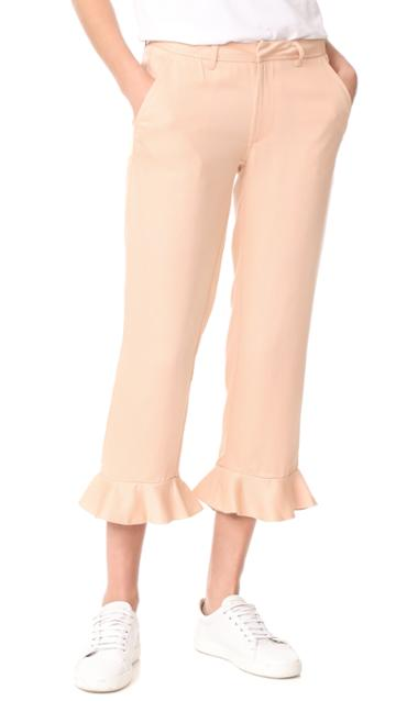 Sincerely Jules Ruffle Trousers