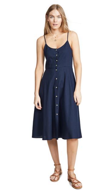 Rolla S Midsummer Linen Dress