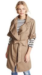 Nsf Kayu Trench Coat