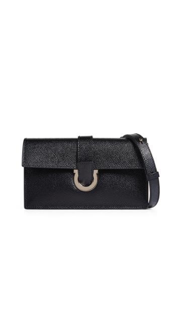 Salvatore Ferragamo Mini Thalia Wallet On A Chain
