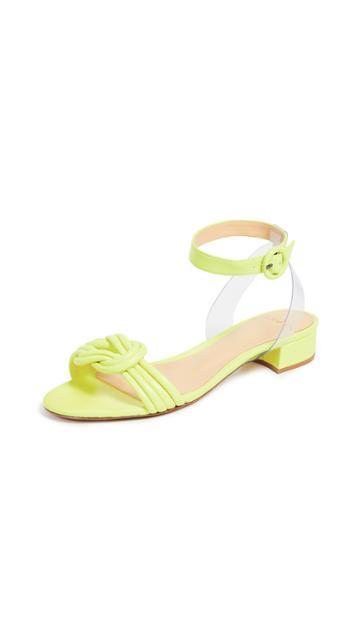 Alexandre Birman Vicky Vinyl 30mm Sandals