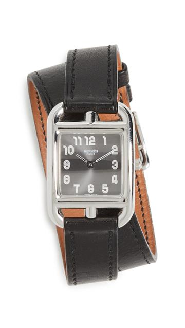 What Goes Around Comes Around Hermes Cape Cod Double Wrap Watch