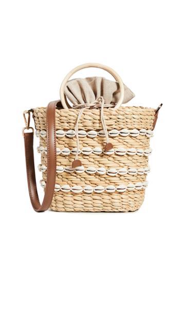 Poolside Bags The Mak Shell Crossbody Bag