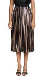 Alice Olivia Mikaela Midlength Pleated Skirt
