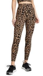 Lna Leopard Zipper Leggings