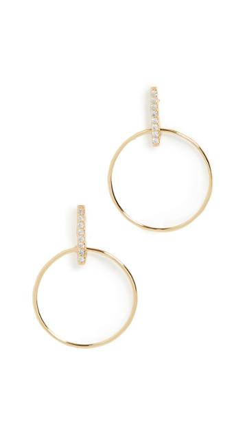 Gorjana Balboa Shimmer Small Drop Earrings