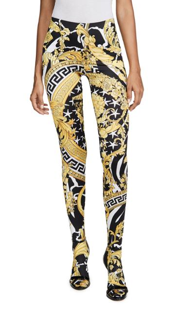 Versace Patterned Leggings
