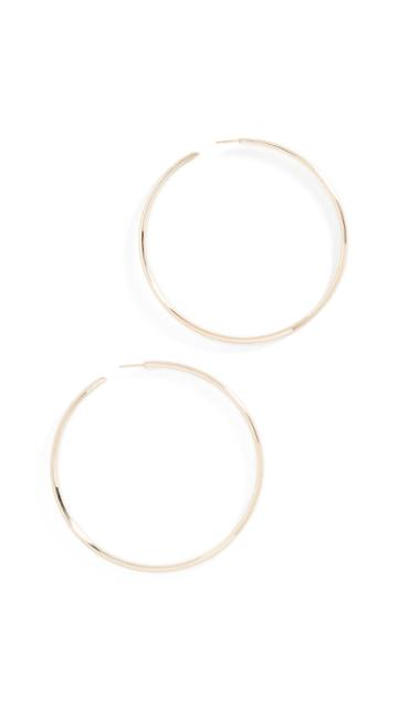 Lana Jewelry Large Hollow Hoops