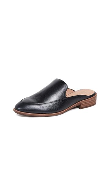 Madewell The Frances Loafer Mule In Leather