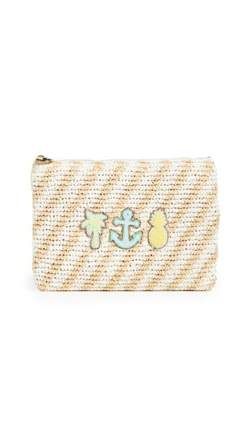 Stoney Clover Lane Beach Flat Pouch