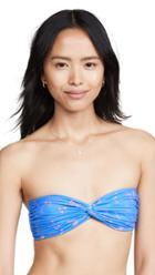 Caroline Constas Twist Bikini Top
