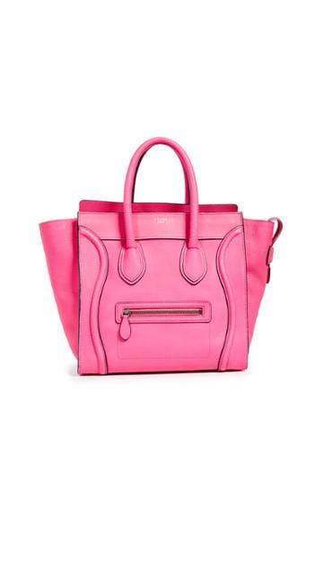 What Goes Around Comes Around Celine Mini Luggage Bag